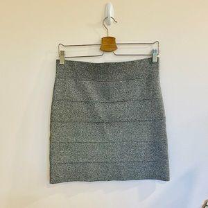 BCBG mini skirt, pencil stretch